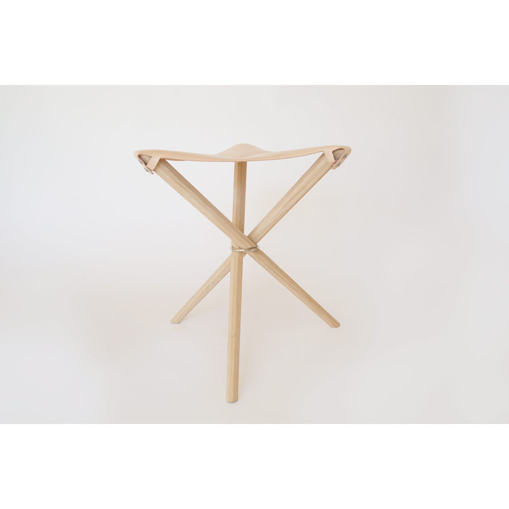Kalon Coyote Stool | Natural Vegetable Tan