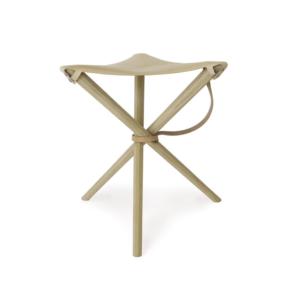 Kalon Coyote Stool Natural | Veg Tan-133-V