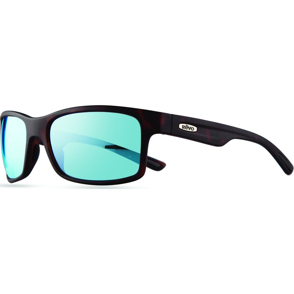 Revo Eyewear Crawler Matte Tortoise Sunglasses | Blue Water RE 1027 02 BL