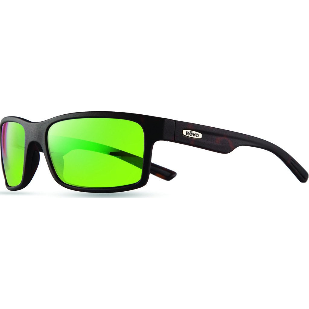 aa281ec514 Revo Eyewear Crawler Matte Tortoise Sunglasses Green Water RE 1027 ...