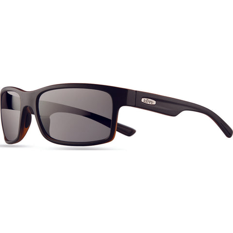 Rēvo Eyewear Crawler Xl Matte Black Sunglasses | Graphite