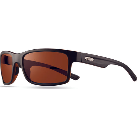 Rēvo Eyewear Crawler Matte Black/Tort Sunglasses | Open Road