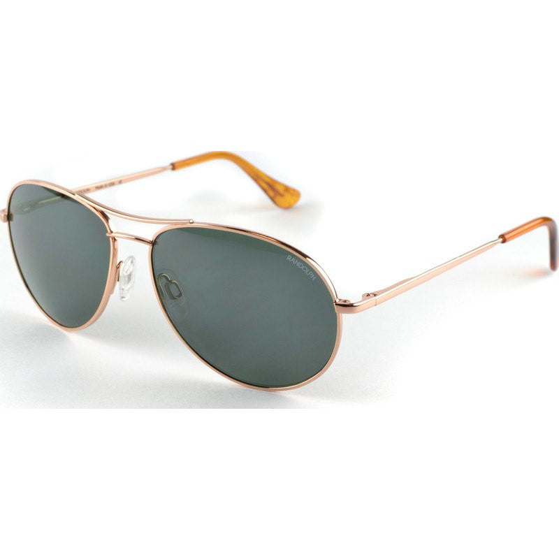 Randolph Engineering Crew Chief II Rose Gold Plated Sunglasses | AGX PC Skull