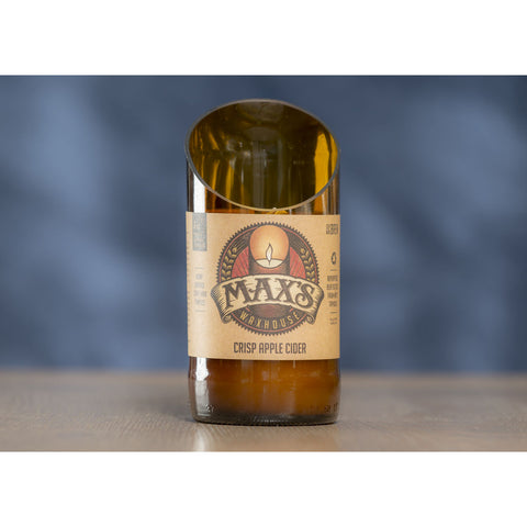 Max's Waxhouse 6oz Beer Bottle Candle | Crisp Apple Cider