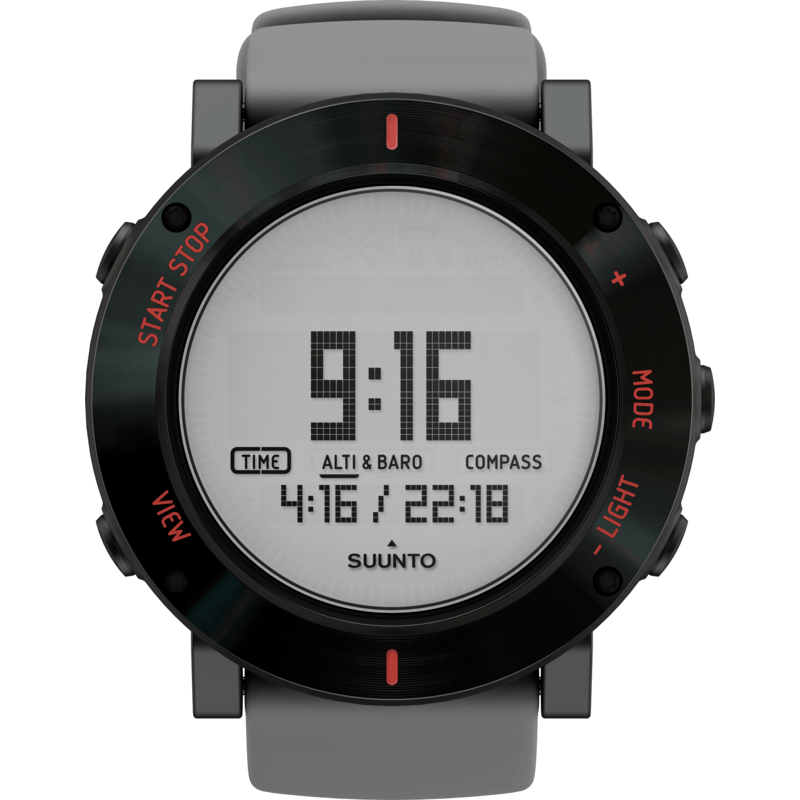 Suunto Core Multi-Function Outdoor Watch | Gray Crush SS020691000