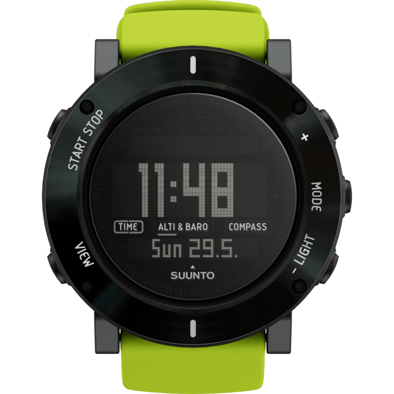 Suunto Core Multi-Function Outdoor Watch| Lime Crush SS020693000