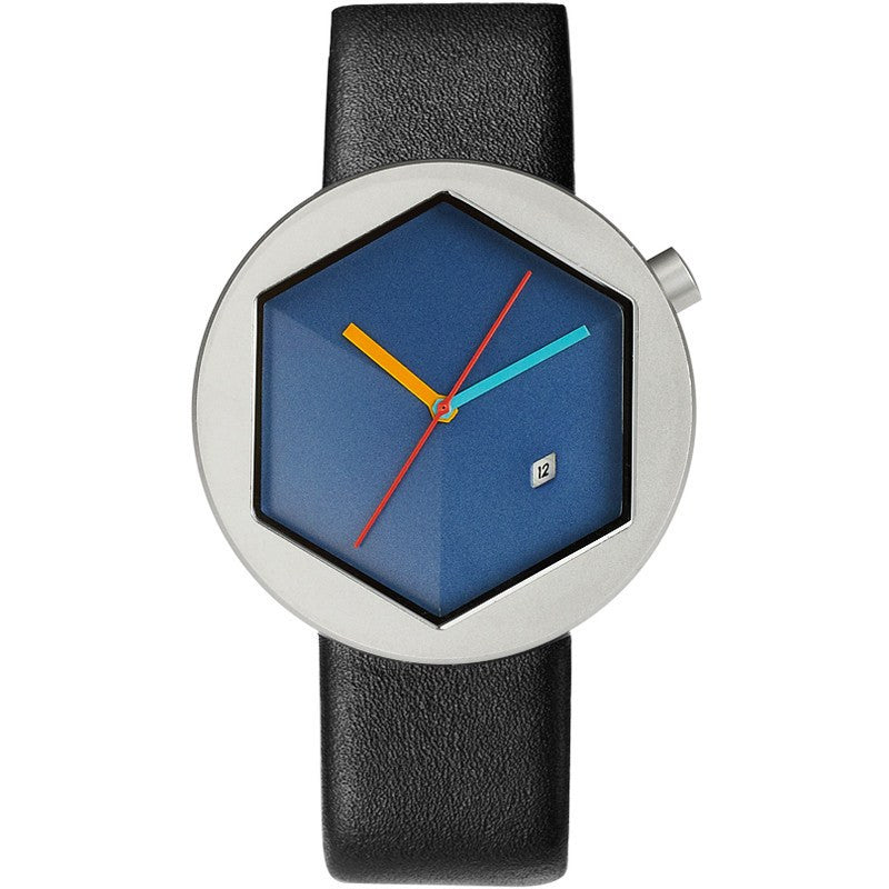 Projects Watches Michael Graves Cubit Watch | Blue