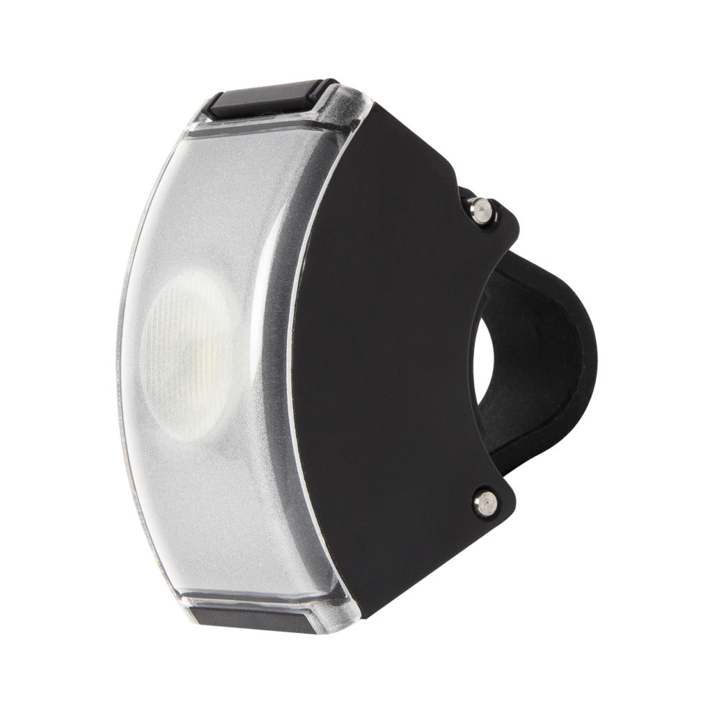 Bookman Curve Front Light | Black / Black