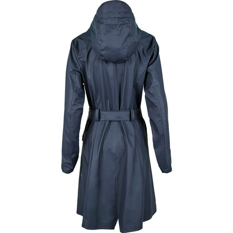 RAINS Waterproof Curve Jacket | Blue 1206 XS/S