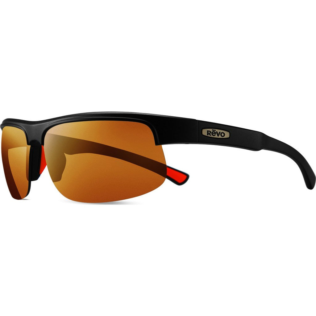 Revo Eyewear Cusp C Matte Black Sunglasses | Open Road RE 1024 01 OR