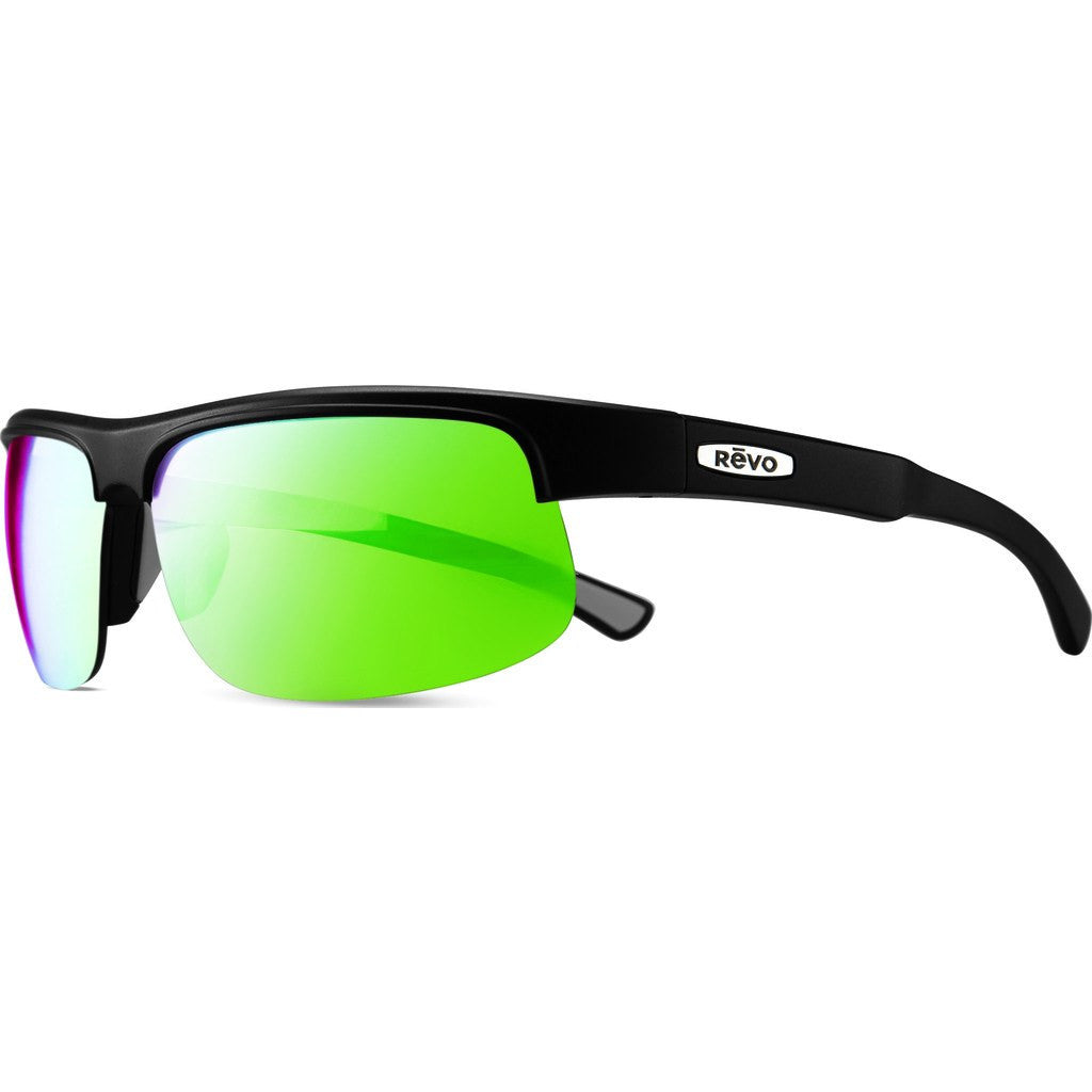 Revo Eyewear Cusp C Matte Black/Grey Sunglasses | Green Water RE 1024 19 GN
