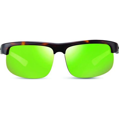 Revo Eyewear Cusp C Matte Tortoise Sunglasses | Green Water RE 1024 02 GN