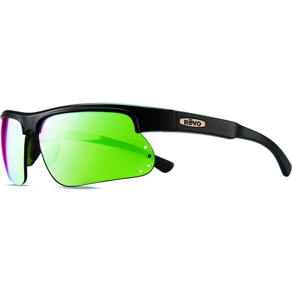 Revo Eyewear Cusp S Black/Green Sunglasses | Green Water RE 1025 18 GN