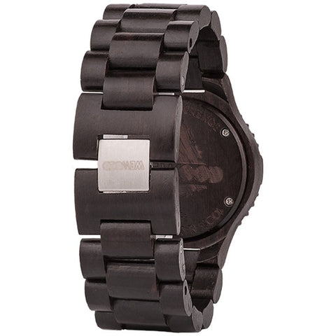 WeWood Cygnus Blackwood Wood Watch | Black