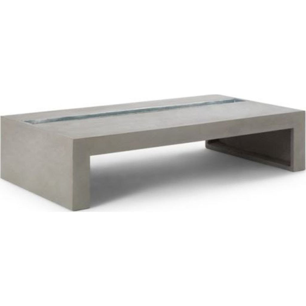 lyon beton green rectangular coffee table light grey. Black Bedroom Furniture Sets. Home Design Ideas