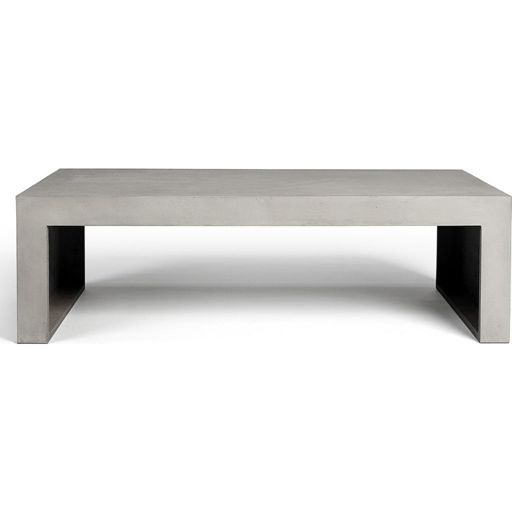 ... Lyon Beton Dawn Rectangular Low Coffee Table | Light Grey D 09017_40 ...
