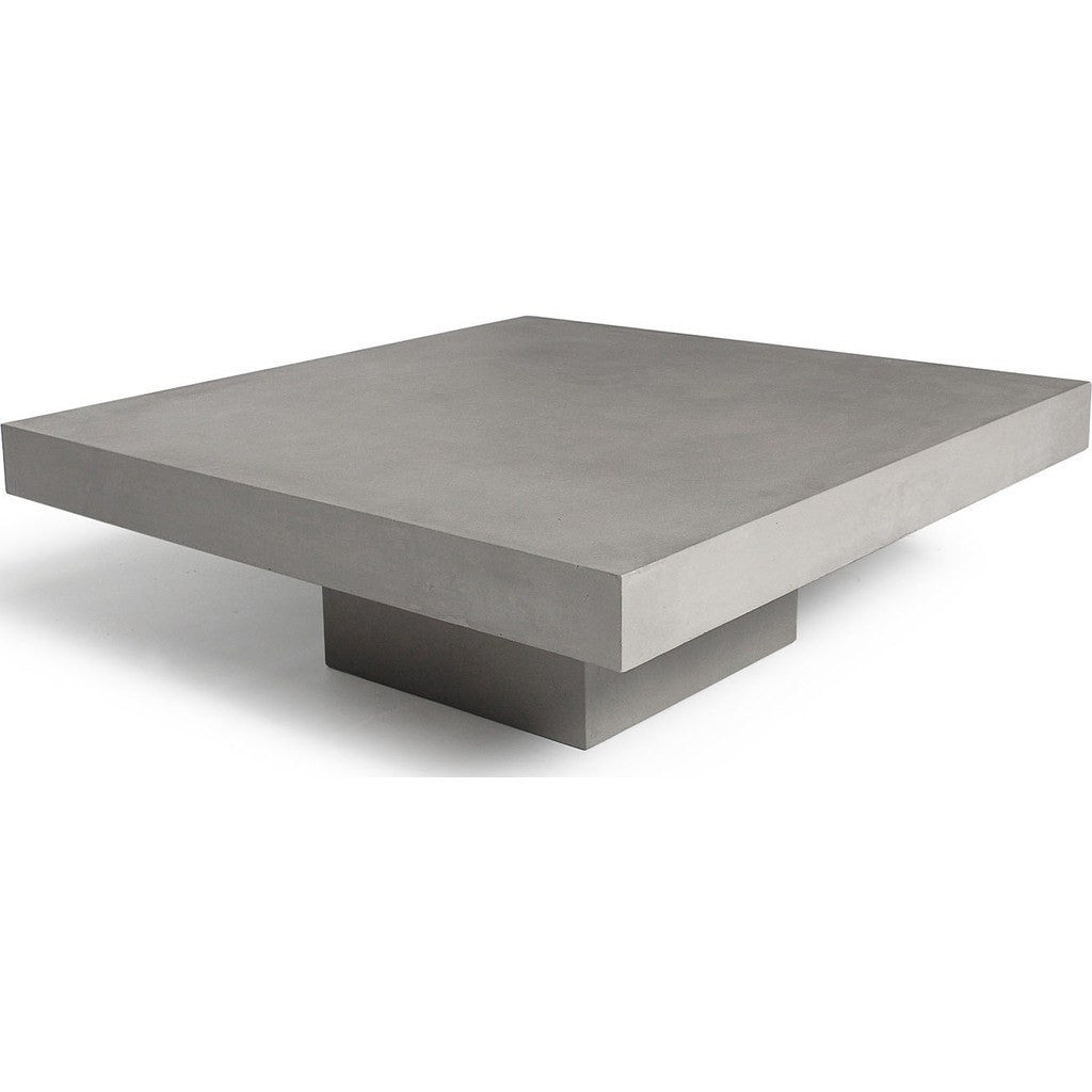 lyon beton t square coffee table light grey sportique. Black Bedroom Furniture Sets. Home Design Ideas