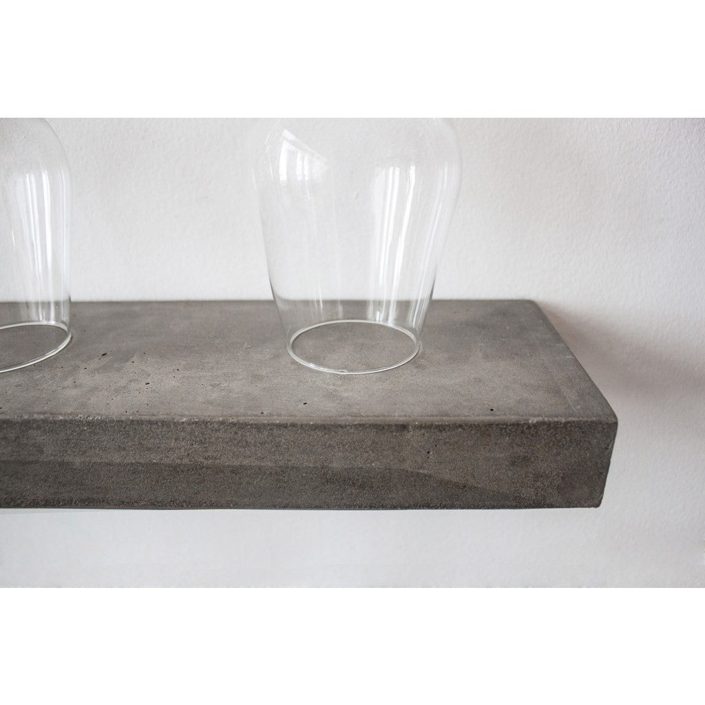 Lyon Beton Sliced S Shelf | Light Grey  D-09153