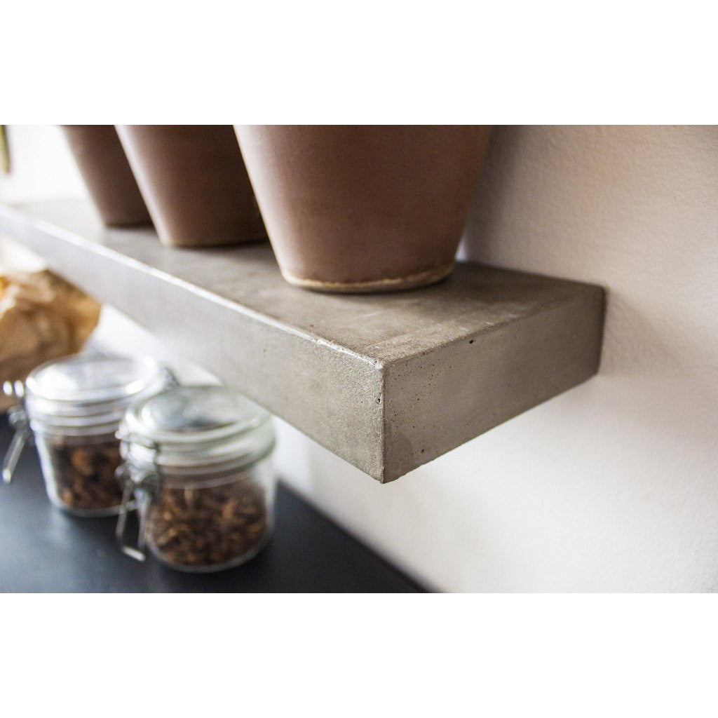 Lyon Beton Sliced L Shelf | Light Grey  D-09154