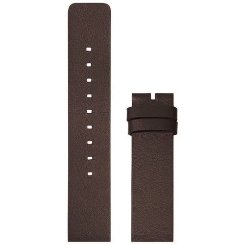 LEFF amsterdam Leather Strap for D38 Tube Watch | Brown LT71092