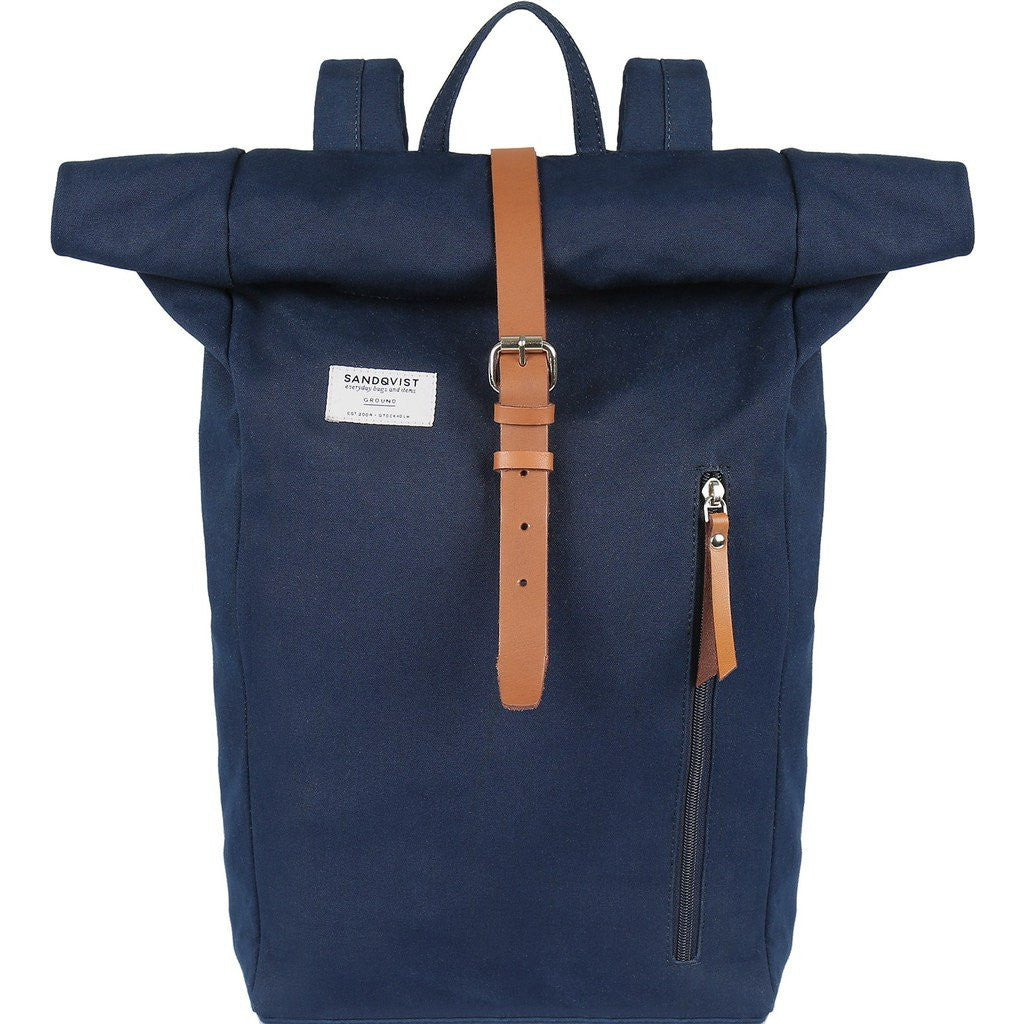 Sandqvist Dante Rolltop Backpack | Blue SQA585