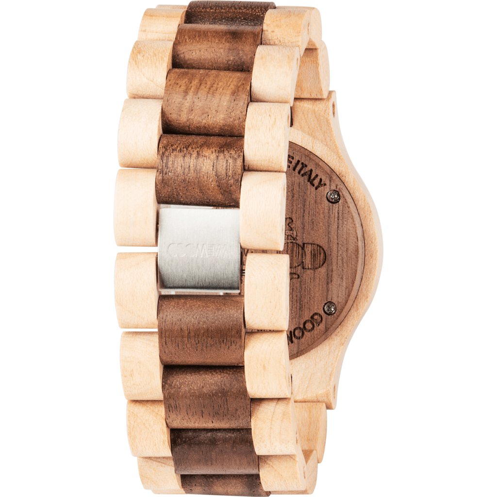 WeWood Date Maple Wood Watch | Beige/Nut WDBENU