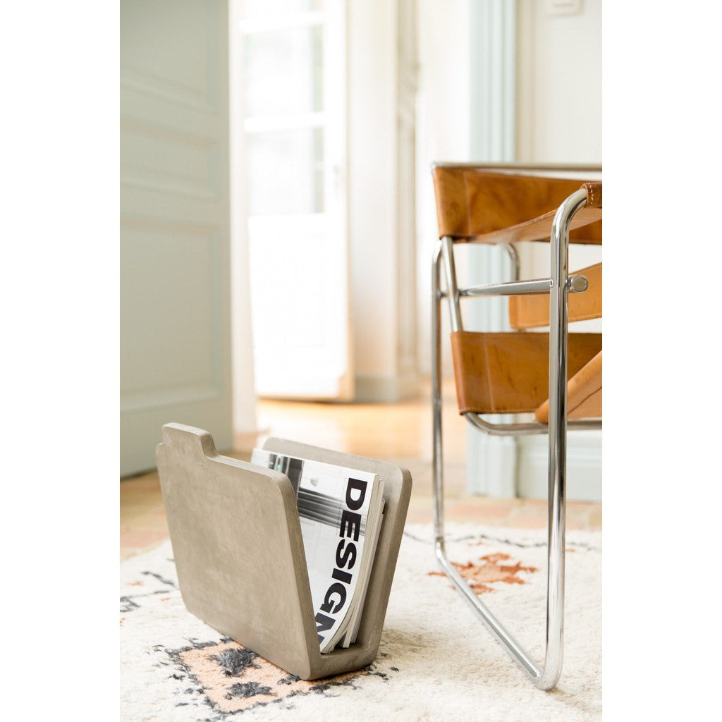 Lyon Beton Magazine Rack | Light Grey  DB-09107S