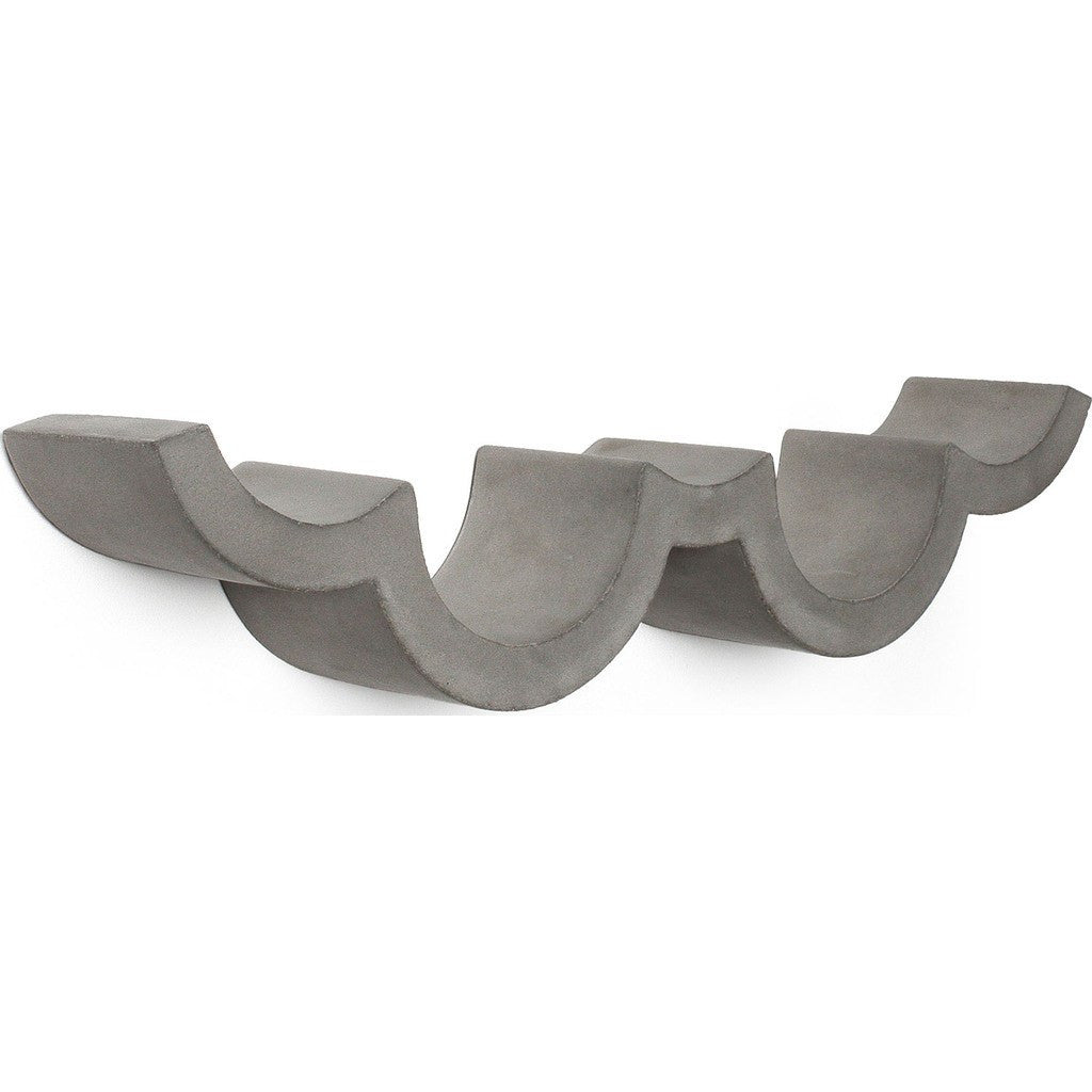 Lyon Beton Small Cloud Toilet Paper Shelf | Concrete