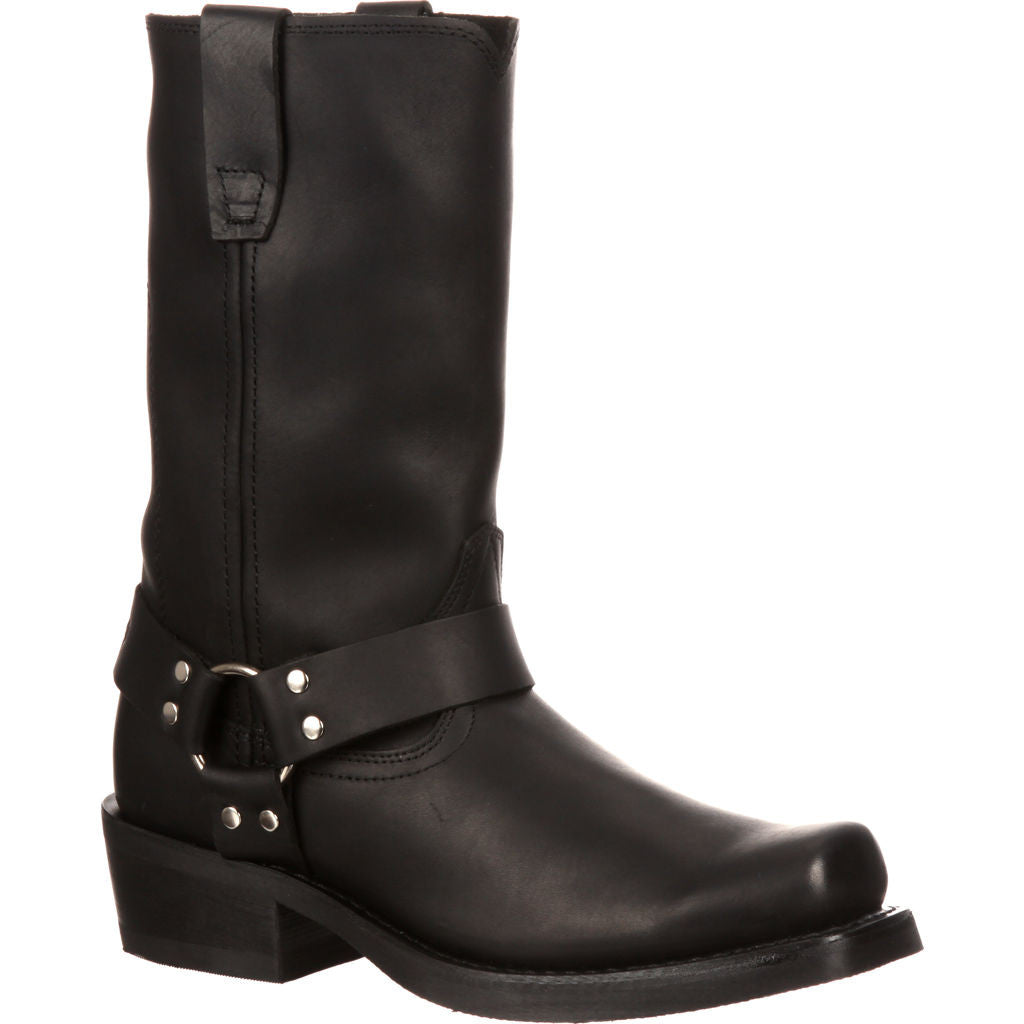 Durango Leather Harness Boots | Black DB510