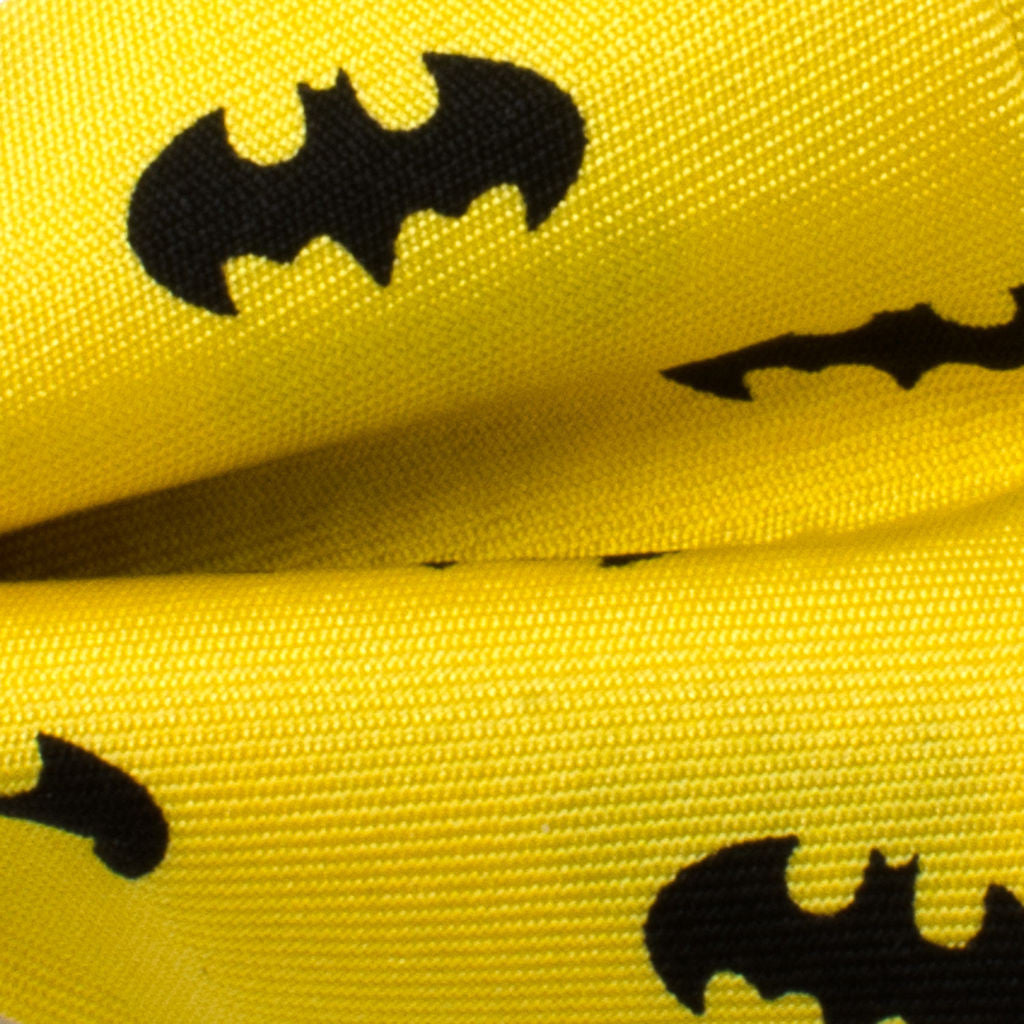 Cufflinks DC Batman Big Boys' Silk Bow Tie | Yellow DC-BAT1Y-KBT-BB