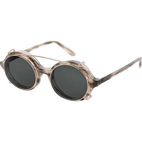 Han Kjobenhavn Doc Clip-On Sunglasses | Wolf Frame-DC-CO-22-SUN