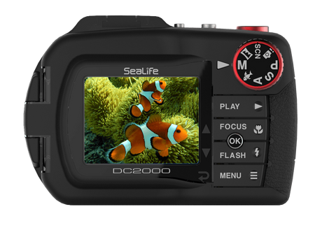 SeaLife DC2000 20mp Underwater Camera Black/Red SL740