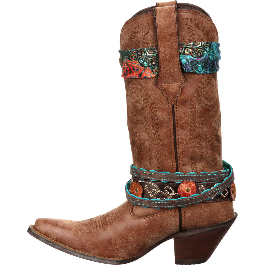 Durango Crush Women's Accessorized Western Boots | Brown RD145