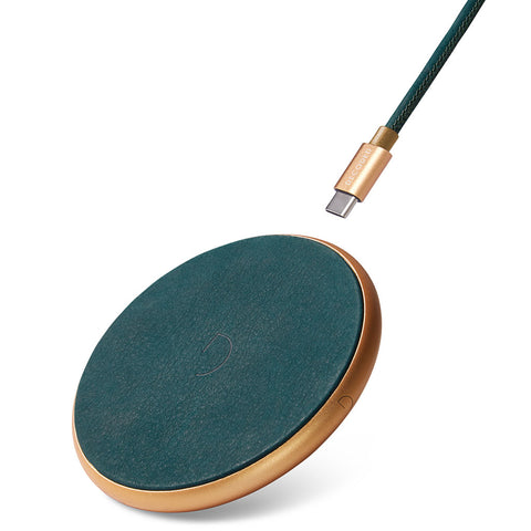 Decoded FastPad QI Wireless Charger | Leather