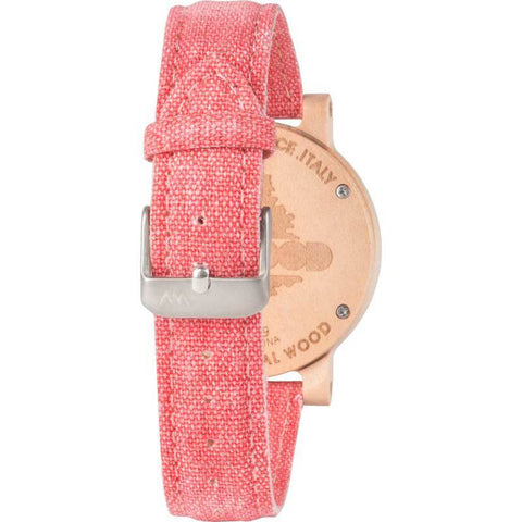 WeWood Denha Maple Wood Watch | Beige/Guava