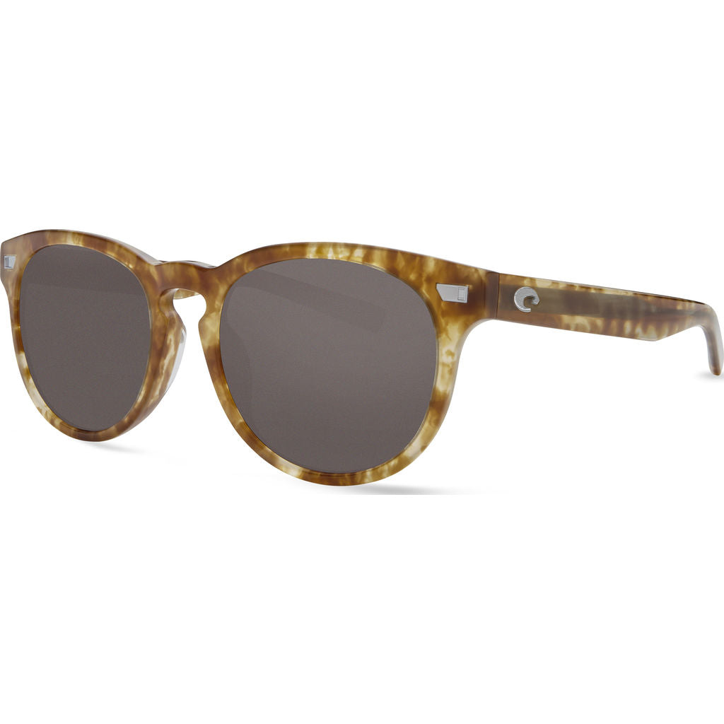 Costa Del Mar Shiny Kelp Sunglasses | Gray 580G