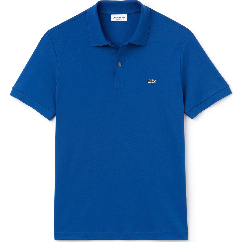Lacoste Men's Regular Fit Pima Cotton Interlock Polo