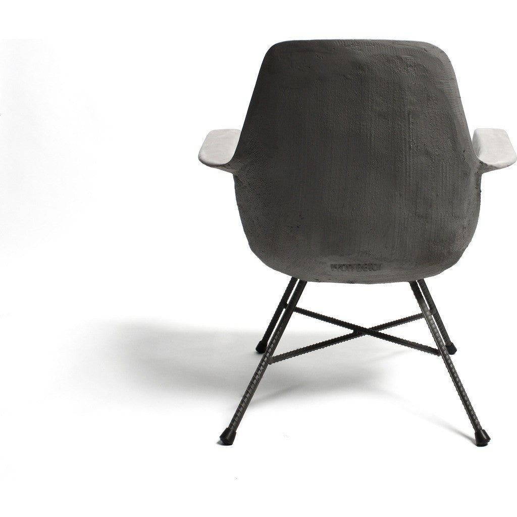 Lyon Beton Hauteville Low Armchair | Light Grey  DL-09194