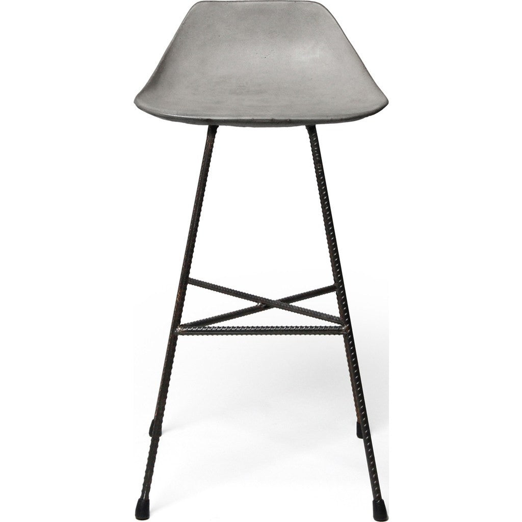 Lyon Beton Hauteville Counter Chair | Light Grey  DL-09227