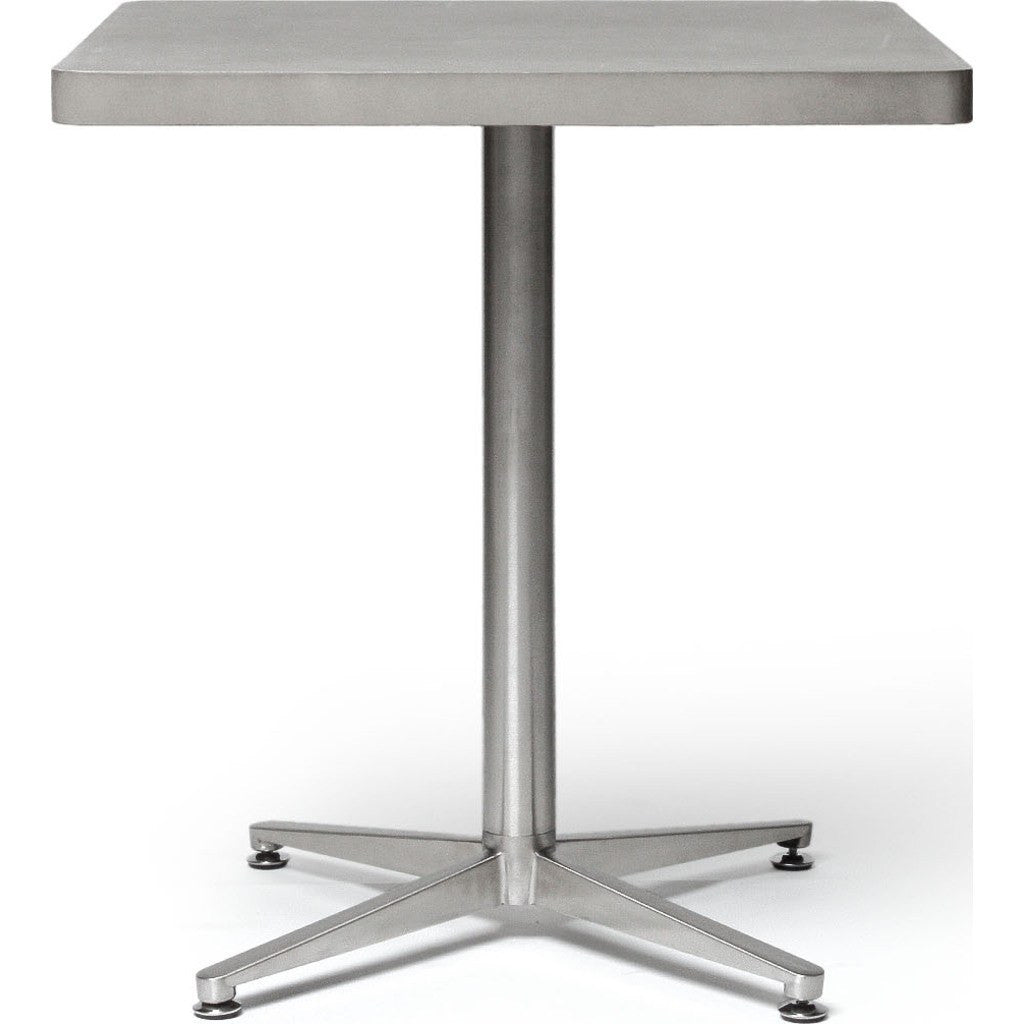 Lyon Beton Bistro Square Table | Light Grey  DL-09070_SL-131-1