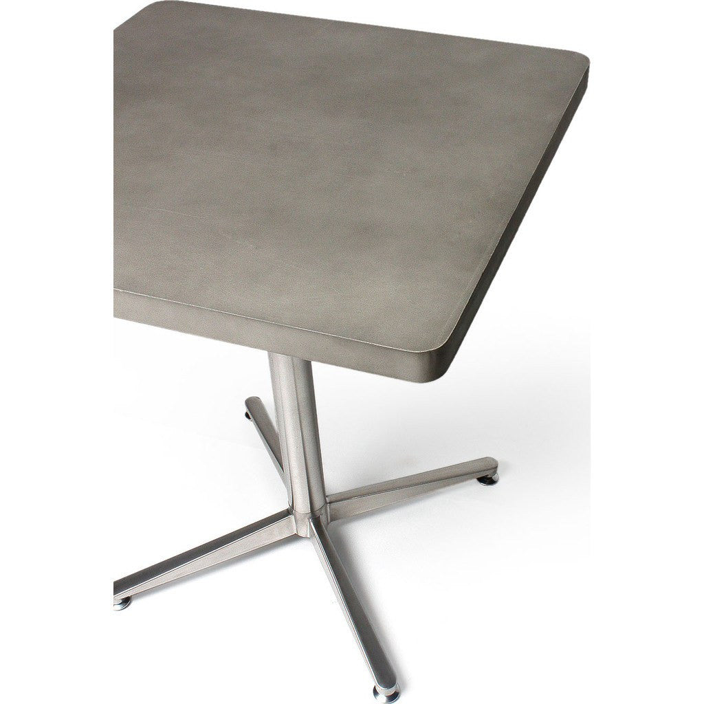Lyon Beton Bistro Square Table Light Grey Sportique