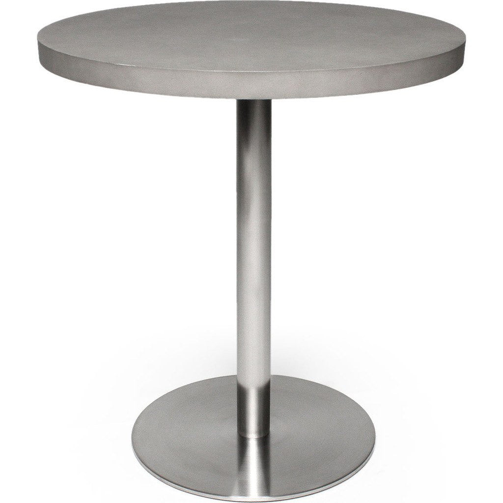 Lyon Beton Bistro Round Table Light Grey Sportique