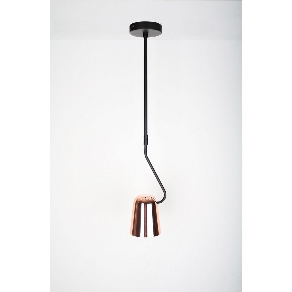 Seed Design Dobi Pendant Light | Copper/Black