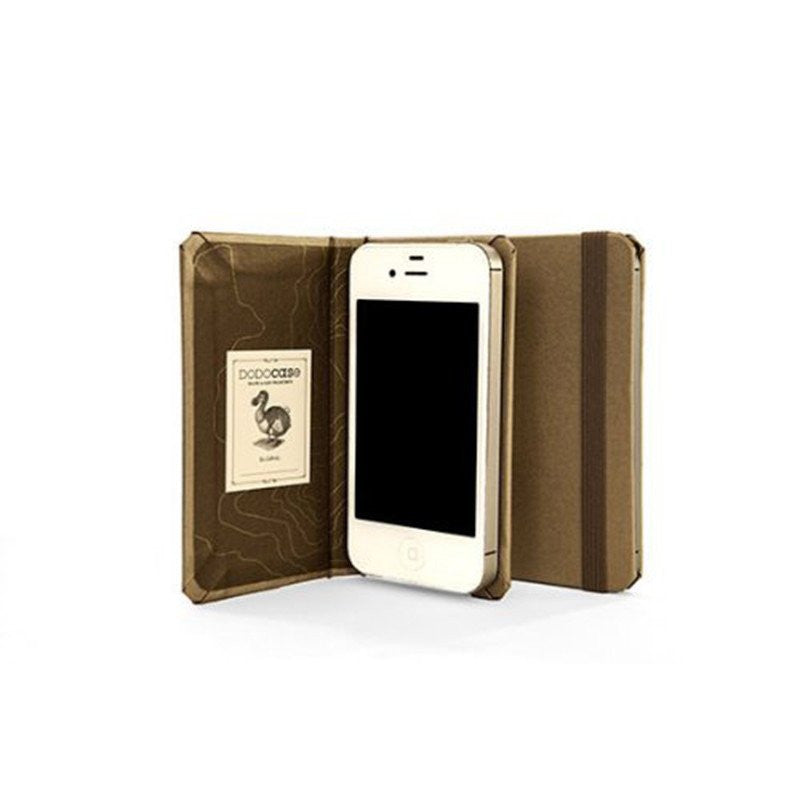 DODOcase Hardcover Case for iPhone 4/4s  | Silver