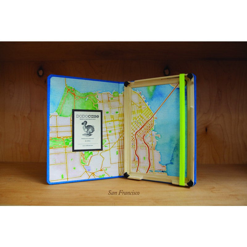 DODOcase Stamen Maps San Francisco for iPad Mini | Watercolor
