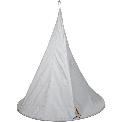 Cacoon Cover Door for Single Hanging Hammock | Light Grey P1006