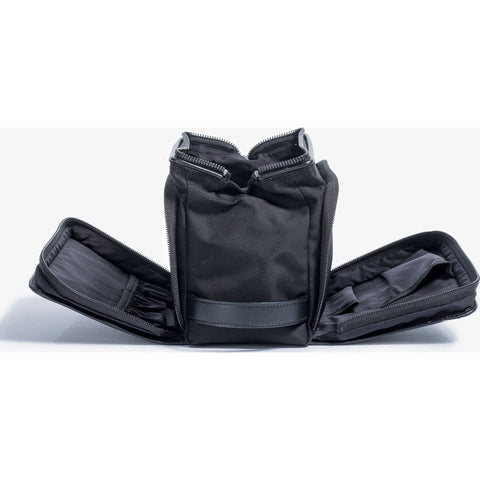 Hook & Albert Leather Travel Dopp Kit | Black DPKTCNLT-BLK-OS