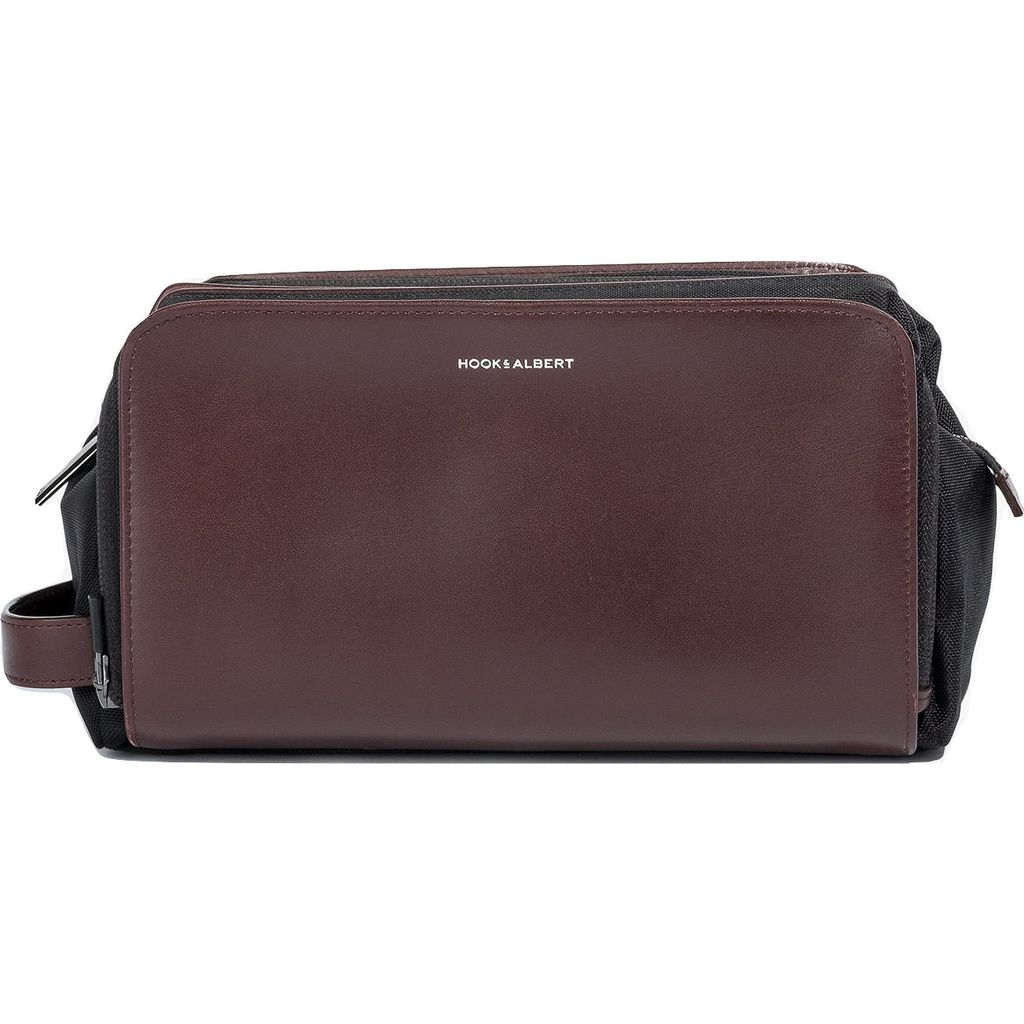 Hook & Albert Leather Travel Dopp Kit | Brown DPKTLTH-BRN-OS