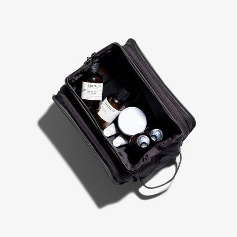 Hook & Albert Dopp Kit | Black Leather