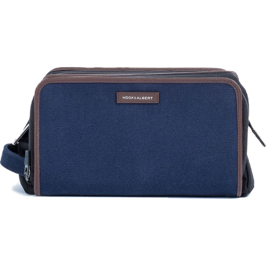 Hook & Albert Twill Travel Dopp Kit | Navy DPKTTWL-NVY-OS